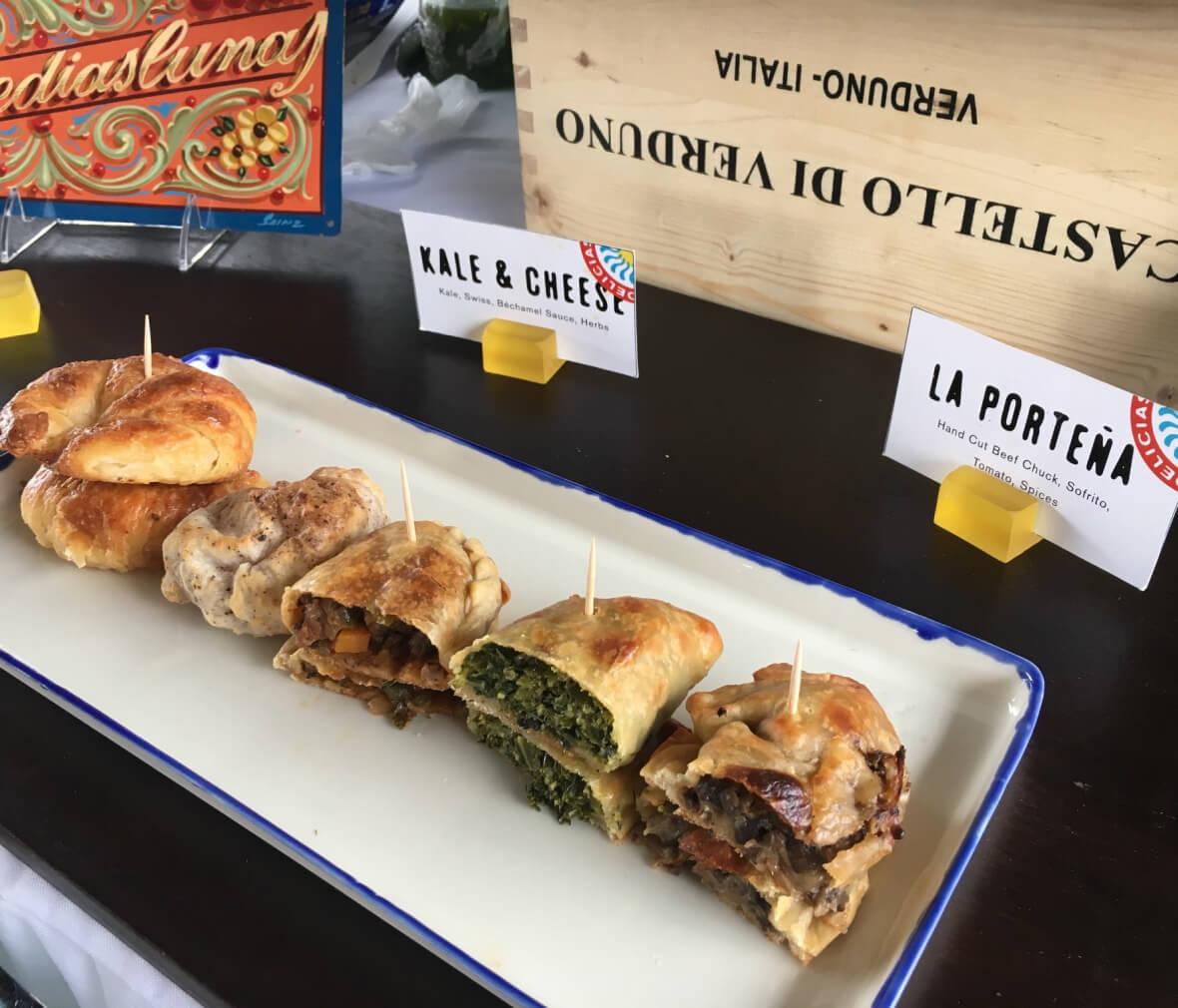 Empanadas on a platter