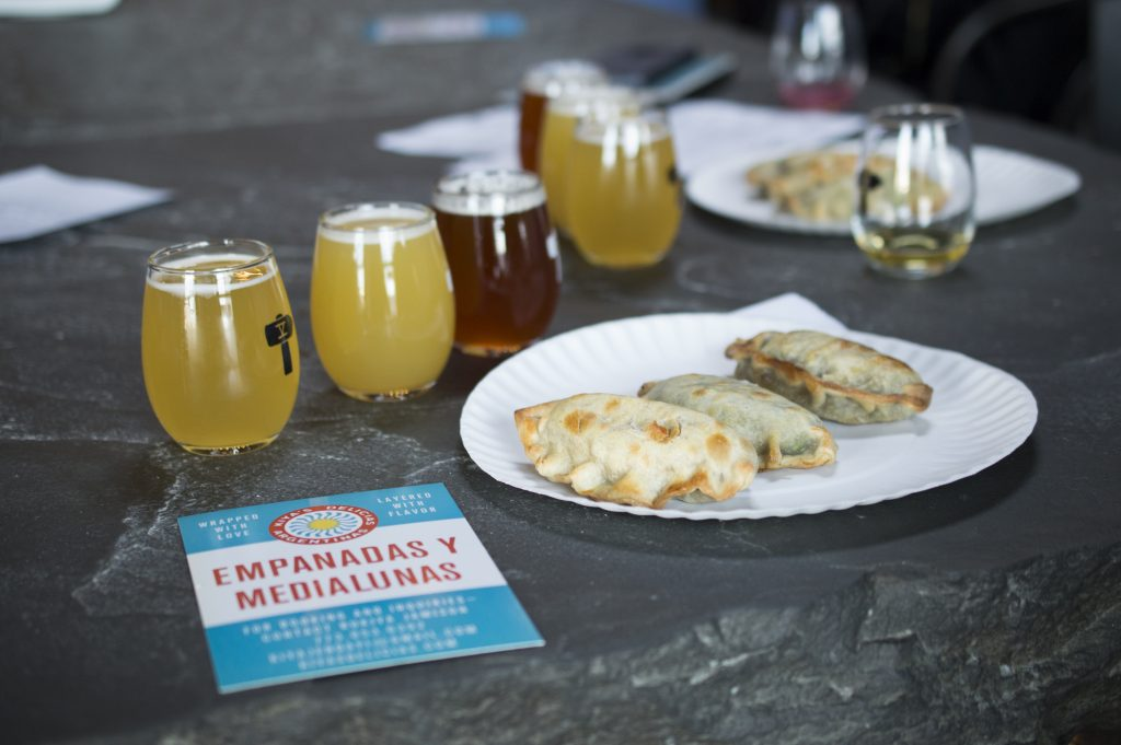Kiyasdelicias at FIfthhammer Brewery Co in long island city