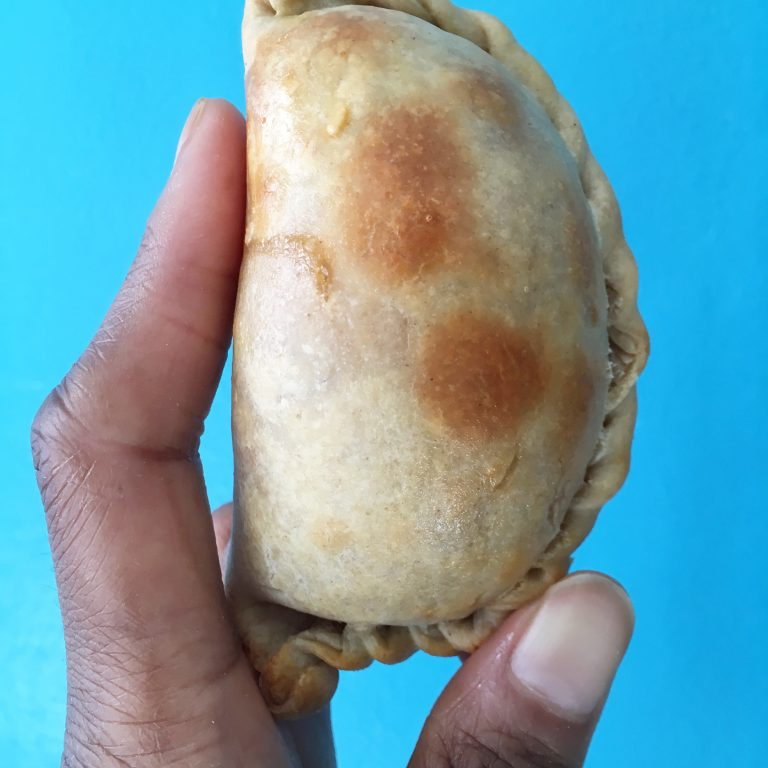 Close up empanada by kiyasdelicias
